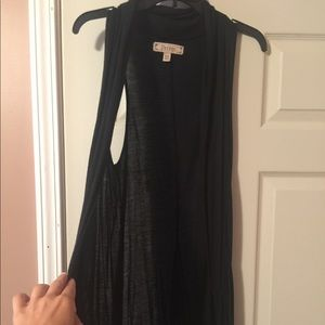 Black tunic vest